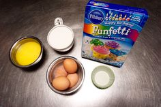 Lookingto impress your friends and family with your baking abilities with as little effort as possible? Well here's the recipe for you. By simply replacing the ingredients on the box with milk, melted butter, and an extra egg, an ordinary box mix cupcake is transformed into soft, fluffy, buttery goodness
