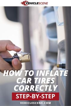 Correct tire pressures are important for fuel efficiency, tire life and even road safety. So let's get it right with our guide to correctly inflating your tires. Car Cleaning Hacks, Car Hacks, Schedule Printable, Van Accessories, Preventive Maintenance, Flat Tire, Car Tools, Good Tutorials, Car Detailing