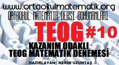 KAZANIM ODAKLI TEOG MATEMATİK DENEMESİ 10