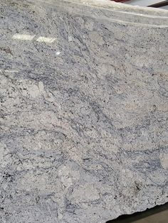White Ice granite for kitchen and bathroom countertops. Grey Granite Countertops, Bathroom Countertops, White Ice Granite, Granite Colors, Kitchen Remodel, House Plans, Stone, House Ideas, Homes