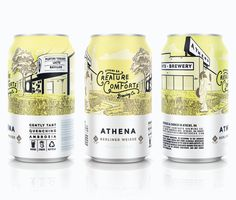 Creature Comforts Athena Cans