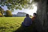 Explore this beautifully maintained neo-classical stately home and landscape parklands. Life Is Like, What Is Life About, Castle, Mens Sunglasses, Man Sunglasses, Men's Sunglasses