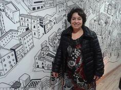 Jadisa Domenech  Coordinadora de lavandería y limpieza #Citysec  #Barcelona #Bcn #wall #BcnWall
