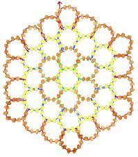 How to Stitch Hexagonal Netting with Seed Beeds
