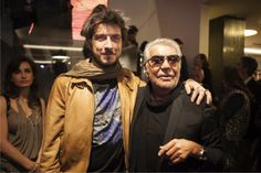 Roberto Cavalli Home Event - Milan Design Week 2014 Paolo Ruffini and Roberto Cavalli