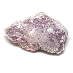 """Raw Lepidolite Stone - Lepidolite is referred to by healers as the """"Peace Stone,"""" and has extremely high vibrations. It protects you from outside influences, relieving everyday stress, menopause and depression."""