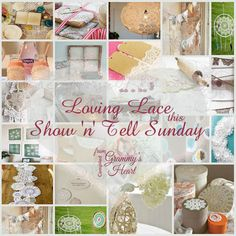 Lovely Lace: Show 'n' Tell Sunday 4/12/15