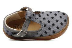 Walk Sandal Pom d Api (Gris) : livraison gratuite de vos Ballerines Walk Sandal Pom d Api chez Sarenza