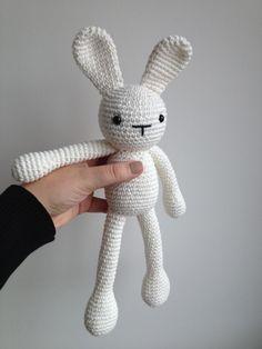 Easter Bunny Amigurumi Crochet. €25.00, via Etsy.