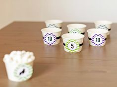 Marshmallow Toss Halloween Party Game