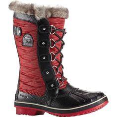 cbe44dddaaf Sorel Women s Tofino II Boot - 10 - Nylon Red Element   Black Fashionable  Snow Boots