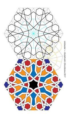 6+7,5. Geometric Drawing, Geometric Designs, Geometric Shapes, Islamic Designs, Islamic Art Pattern, Arabic Pattern, Geometry Pattern, Pattern Drawing, Pattern Art
