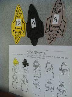 space centers Life Is Sweet....In Kindergarten!