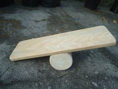 Wooden Balance Board / Children Balance Board by Wiwiurka on Etsy