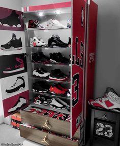 jordan shoe rack