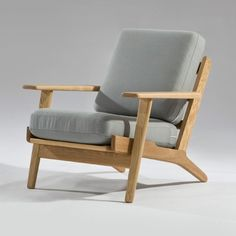 Hans Wegner Plank Style Armchair - Click to enlarge