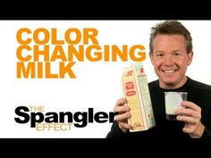 Science AND art! How fun! The Spangler Effect - Color Changing Milk Season 01 Episode 18