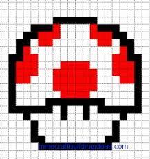 Image Result For Easy Minecraft Pixel Art Templates Coloriage Pixel Pixel Art Nourriture Dessin Quadrillage