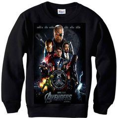 avengers sweatshirt!