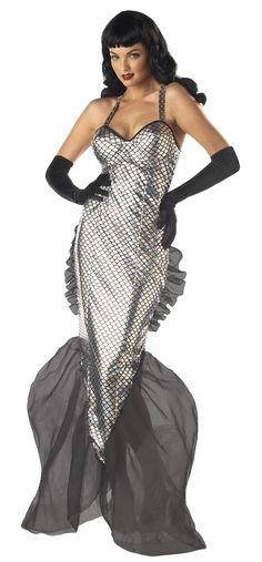 Bettie Page Mermaid