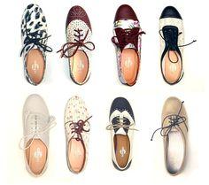 cute oxford shoes.