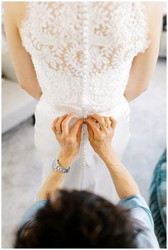 Wedding dress Hedsor House
