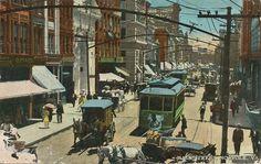 Main Street in Norfolk, VA circa 1900s