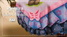 Pintura em tecido - Falso Barrado (Adriana Vit)