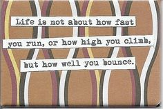 how well you bounce