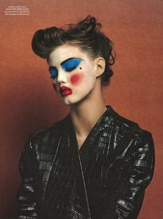 > Lindsey Wixson CR Fashion Book Fall/Winter 2014 Photographer: Johnny Dufort Hair: Guillaume Berard Make-Up: Topolino
