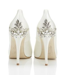 Ornate Bridal Shoes by Harriet Wilde
