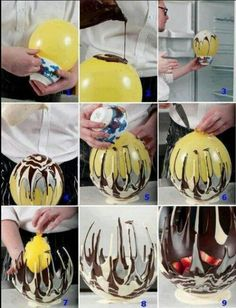 wpid Chocolate Bowls How To Make A Balloon Bowl