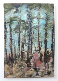 Catskill Landscape 15 x 22 Oil Painting by GreganPaintings on Etsy