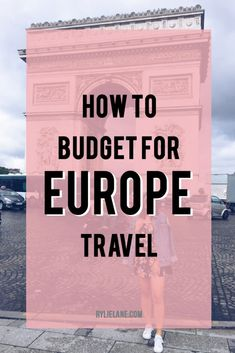 Planning a trip to Europe? Don't know how much it will cost? Here is my complete breakdown of how much I spent in 4 months travelling Europe! Click through to how much Europe will cost