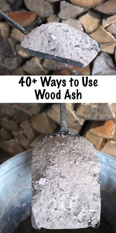 Gardens Discover 70 Uses for Wood Ash Natural ice melt. 40 Ways to Use Wood Ash from a Wood Burning Stove Wood Ash Uses for Home Garden and Survival Historical and Modern Uses for Wood Ash Diy Garden, Garden Projects, Home And Garden, Garden Soil, Garden Modern, Garden Club, Garden Landscaping, Garden Compost, Garden Fencing
