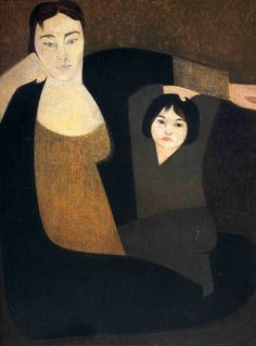 alongtimealone:    Mother and child-Will Barnet (by BoFransson)