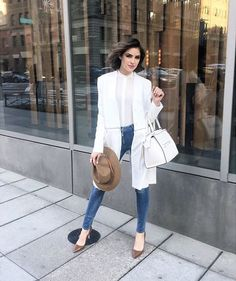 The always stunning Olivia Culpo in our 3x1 W3 High Rise Skinny Jean.