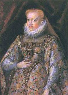 Mária Krisztierna, the wife of the Prince of Transylvania, Zsigmond Báthory