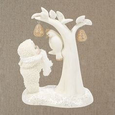 Dept 56 Snowbabies Snow Dreams Partridge In A Pear Tree picture