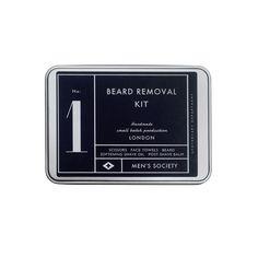 N°1 Kit à barbe de voyage Men's Society