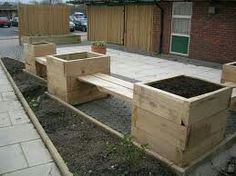 Totally Free Garden Planters sleepers Concepts Pots tubs and half barrels overflowing with flowers add appeal for any garden but container gardeExcellent Totally Free Gar.