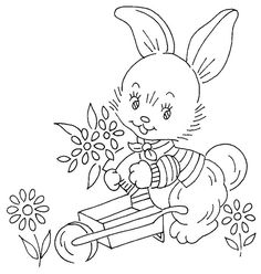 Tri-chem 0667 p. 02 e Baby Embroidery, Hand Embroidery Patterns, Vintage Embroidery, Embroidery Stitches, Machine Embroidery, Christmas Embroidery, Animal Coloring Pages, Embroidery Techniques, Needlework