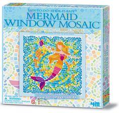4M - Window Mosaic Art Kit - Mermaid