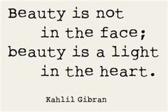 Truth. There are a lot of gorgeous ugly people in the world.