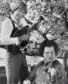 Itzhak Perlman - Playing a little bluegrass with the late John Denver in John Denver, Country Boys, Country Music, Aspen, Stella Stevens, Colorado, David Archuleta, Acoustic Music, Star Wars