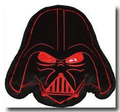 Dan River Darth Vader Head Throw Pillow  Order at http://amzn.com/dp/B001BSIY08/?tag=trendjogja-20