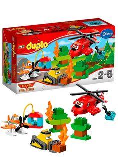 Lego Duplo, Lentsikat (Pelastajat). Lentsikat 2 -elokuvan tarinaan perustuva jännittävä Duplo-paketti, jossa Dusty ystävineen osallistuu metsäpalon sammutukseen. 2–5-vuotiaille. Tuotenro 10538.