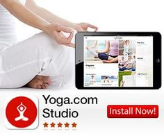 Yoga.com Studio (iPad, iPhone) is beautiful, simple and delightful to use. 300 poses and breathing exercises, all shown in stunning HD video, make it the largest database of yoga poses.  http://t.mobitrk.com/?a=t&aff_id=2634&tags=&o_id=2063.  CSR PRODUCTIONS Entertainment Group, Inc.  www.csrentertainment.com. #csrproductions, #csrentertainment, #fitness, #yoga, #studio, #mobile, @csrproductions1