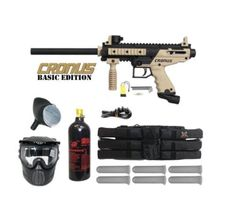 Number 1 Amazon Best Seller Paintball marker. • Tippmann Cronus Paintball Gun Mega Set, • The Cronus combines high performance w/ incredible durability in a milsim body, • Mega Set Includes: Anti Fog Paintball Mask, 200 Round Gravity Fed Loader, • 20 Ounce CO2 tank (Shipped Empty), 6 plus 1 Paintball Harness with 6 Standard 140 Round Paintball Pods, • Tippmann Cronus .68 Caliber Paintball Marker Packag, #paintballgun #paintballmarker #paintball #paintballs #bestpaintballgun
