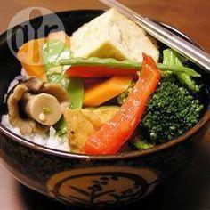Légumes sautés au gingembre @ qc.allrecipes.ca